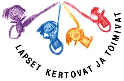 Lapset kertovat -logo